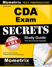 DANB CDA Study Guide