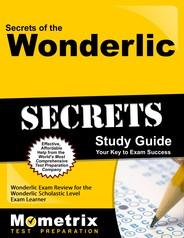 WONDERLIC Study Guide