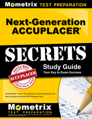 Next Generation ACCUPLACER Practice Test Questions (updated)