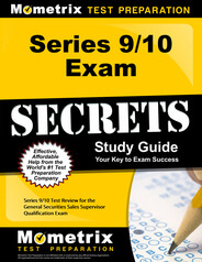 Series 9/10 Exam Prep (What you need to know)